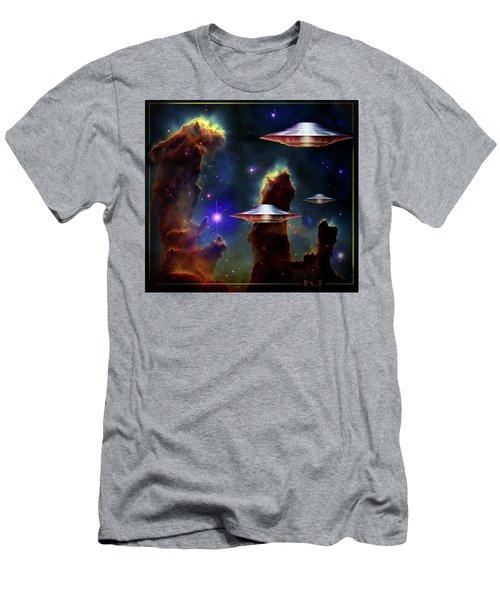 The  Eagle  Nebula  Men's T-Shirt (Athletic Fit)