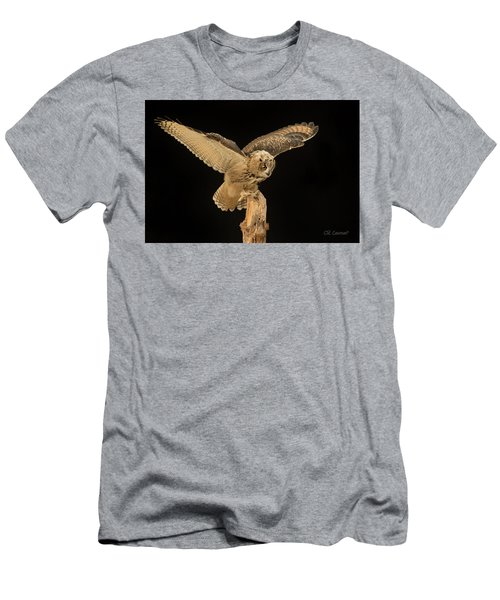 The Eagle-owl Has Landed Men's T-Shirt (Athletic Fit)