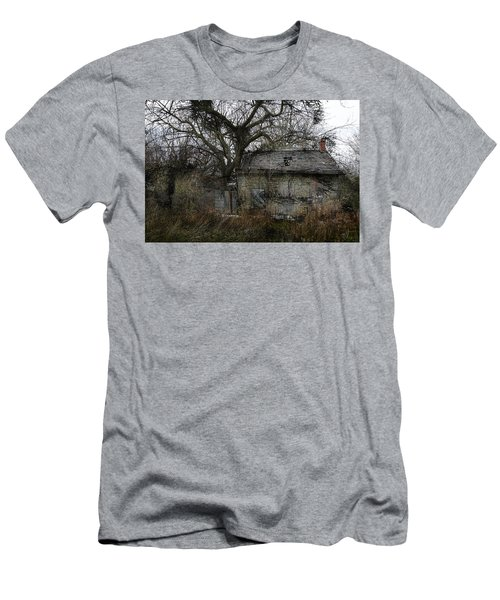 Men's T-Shirt (Slim Fit) featuring the photograph The Earth Reclaims by Jim Vance