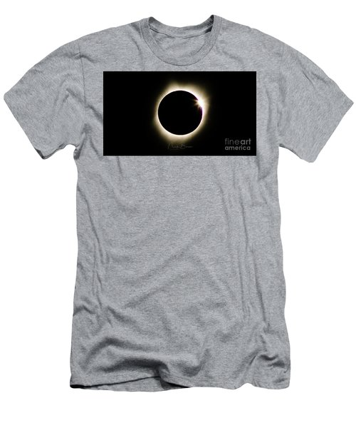 The Edge Of Totality 2 Men's T-Shirt (Athletic Fit)