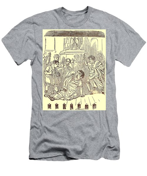 The End Of Julius Caesar Men's T-Shirt (Athletic Fit)