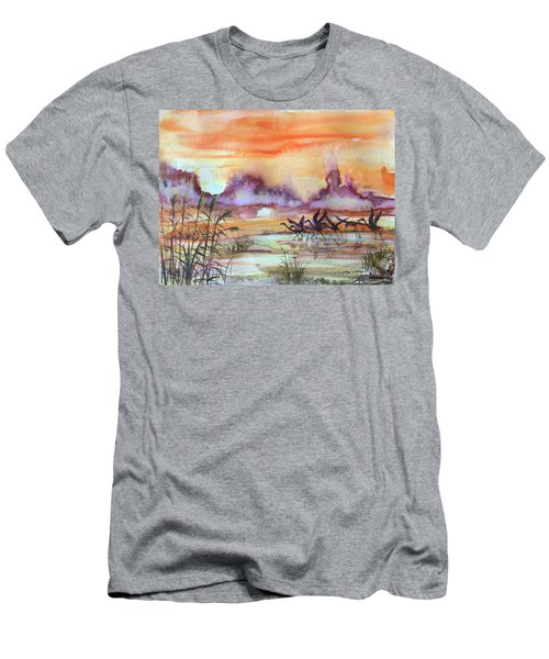 The End Of The Day 2 Men's T-Shirt (Athletic Fit)