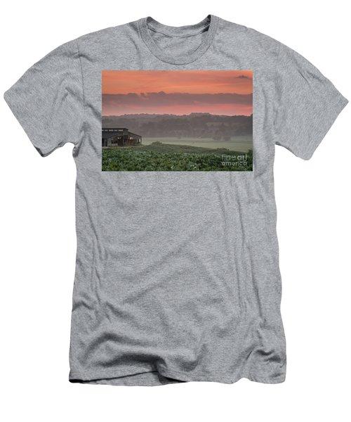 The English Landscape 2 Men's T-Shirt (Athletic Fit)