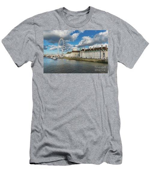 The Eye London Men's T-Shirt (Slim Fit) by Adrian Evans