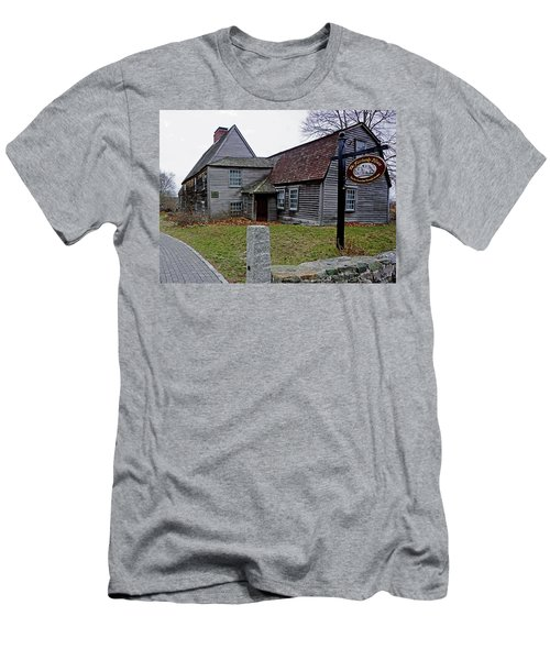The Fairbanks House Men's T-Shirt (Athletic Fit)