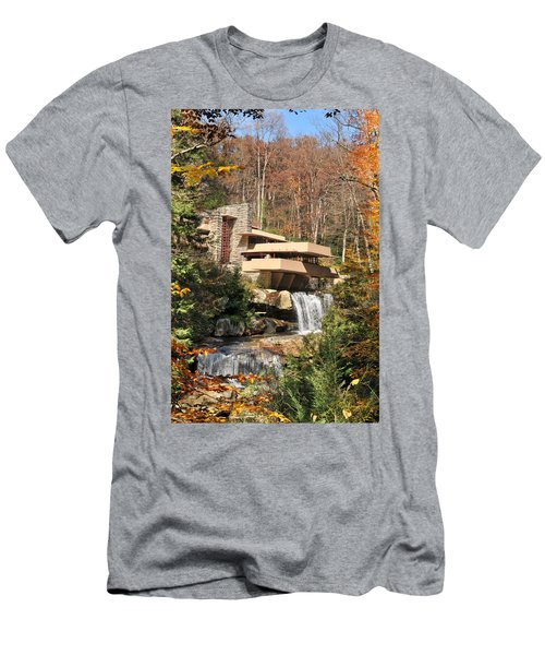 The Fallingwater Men's T-Shirt (Athletic Fit)