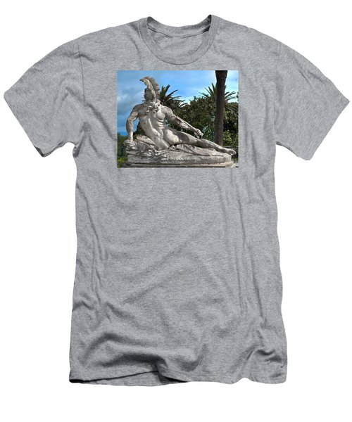 Men's T-Shirt (Slim Fit) featuring the photograph The Feather by Richard Ortolano