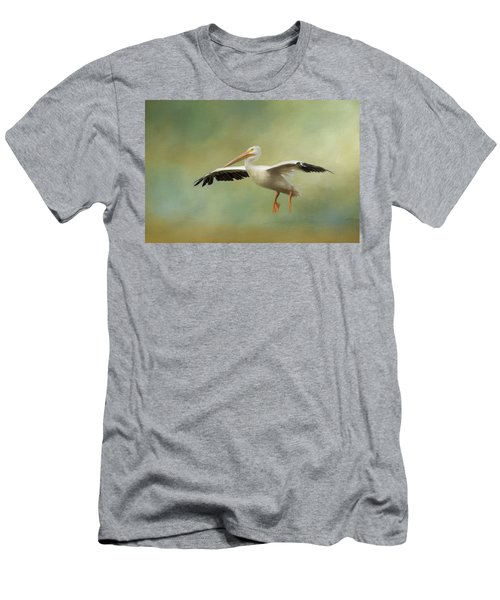 Men's T-Shirt (Athletic Fit) featuring the photograph The Final Approach by Kim Hojnacki