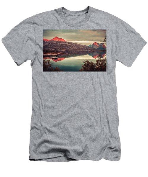 The Flames Men's T-Shirt (Athletic Fit)