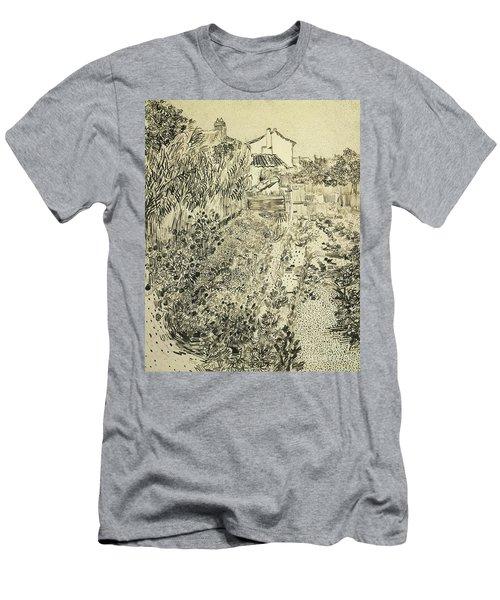 The Flower Garden, 1888 Men's T-Shirt (Athletic Fit)