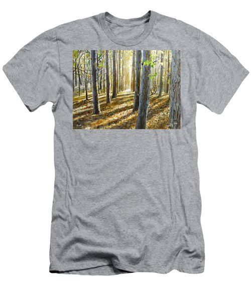 The Forest And The Trees Men's T-Shirt (Athletic Fit)