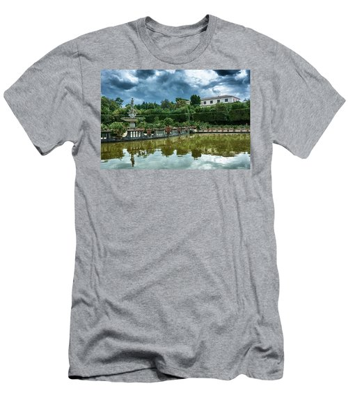 The Fountain Of The Ocean At The Boboli Gardens Men's T-Shirt (Athletic Fit)