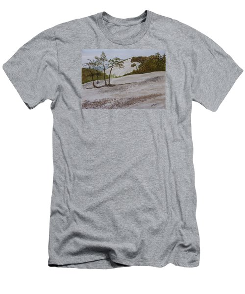 The Four Sisters At Stone Mountain Men's T-Shirt (Slim Fit)