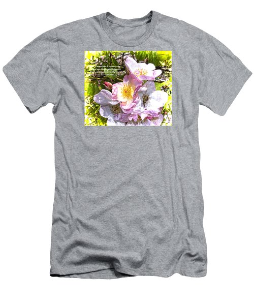The Frailty Of Summer Roses And Of Love Men's T-Shirt (Athletic Fit)