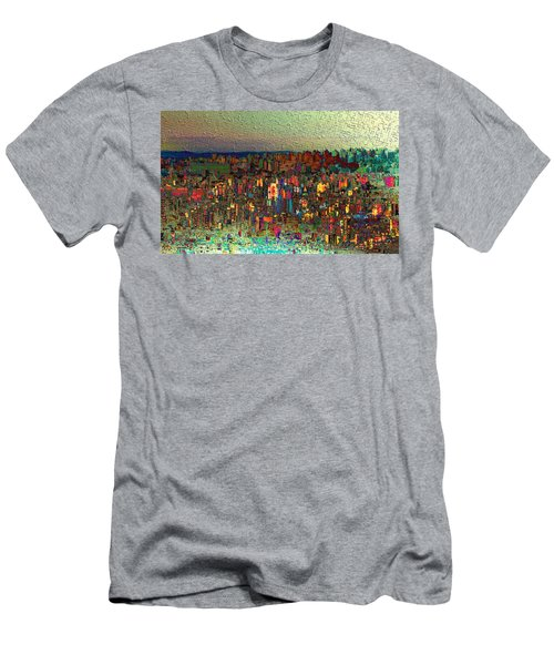 The Fun Side Of Town Men's T-Shirt (Athletic Fit)