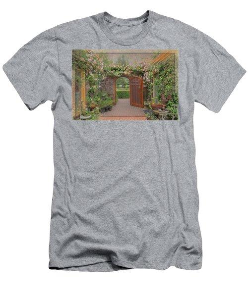 The Garden Door Men's T-Shirt (Athletic Fit)