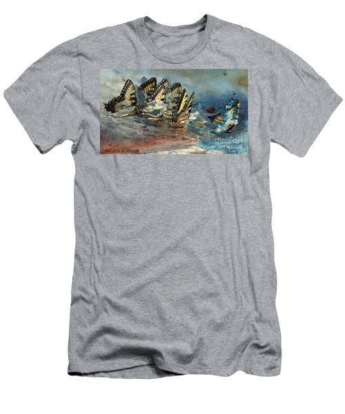 The Gathering Men's T-Shirt (Slim Fit) by Kathy Russell