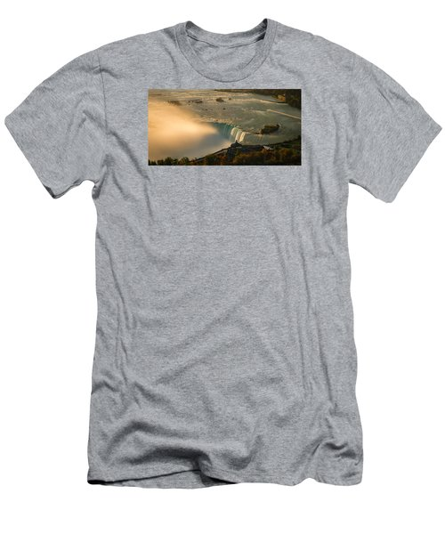 The Golden Mist Of Niagara Men's T-Shirt (Athletic Fit)