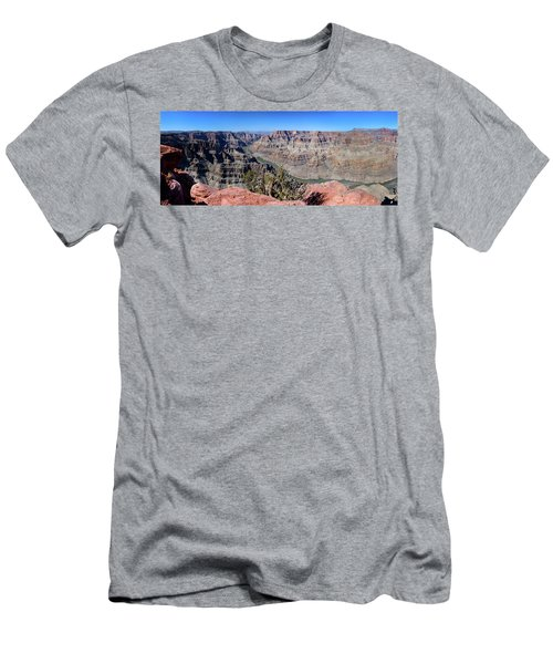 The Grand Canyon Panorama Men's T-Shirt (Athletic Fit)