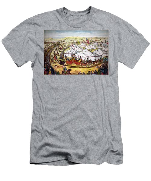The Grand Layout, Chromolithograph 1874 Men's T-Shirt (Athletic Fit)