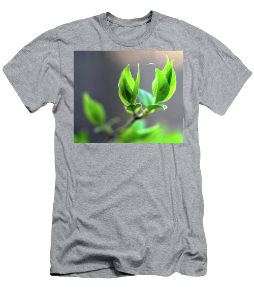 The Green Leaf Men's T-Shirt (Athletic Fit)