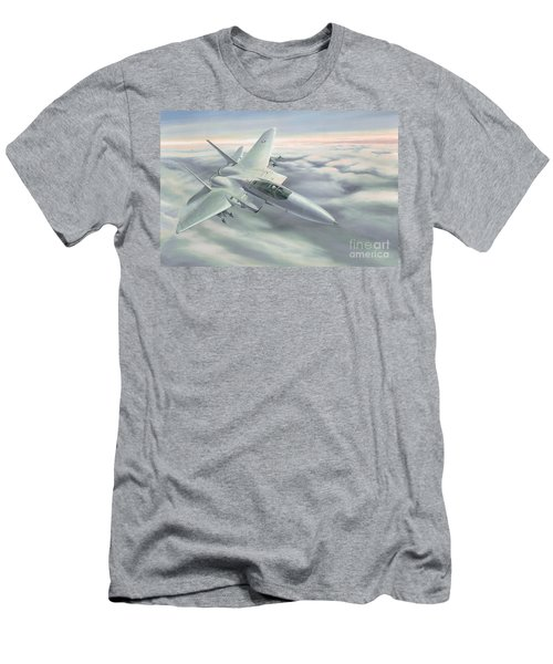 The Grey Ghost Men's T-Shirt (Slim Fit) by Michael Swanson