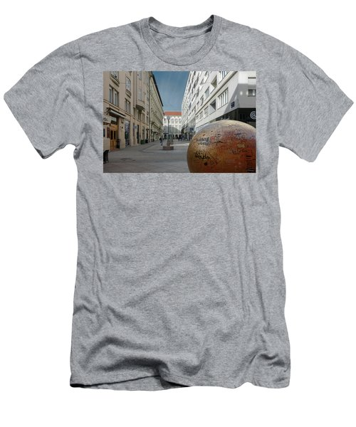 The Grounded Sun Zagreb Men's T-Shirt (Athletic Fit)