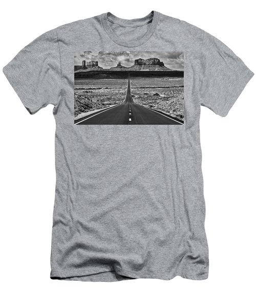 The Gump Stops Here Men's T-Shirt (Slim Fit) by Darren White