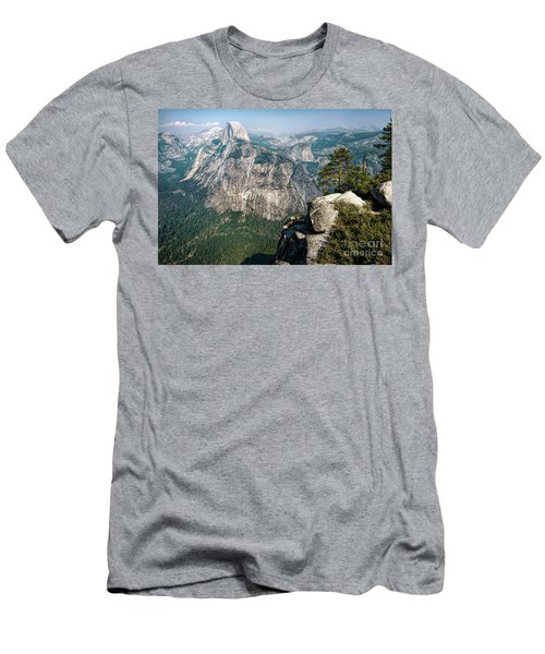 The Half Dome Yosemite Np Men's T-Shirt (Athletic Fit)