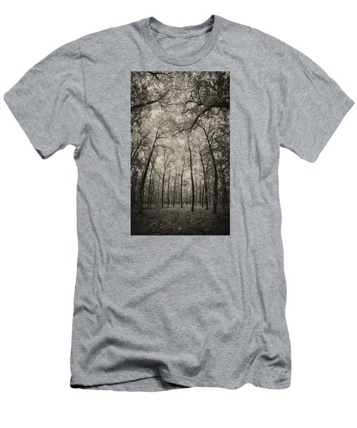 The Hands Of Nature Men's T-Shirt (Slim Fit) by Stavros Argyropoulos