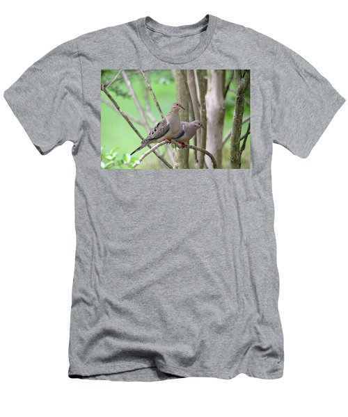Men's T-Shirt (Athletic Fit) featuring the photograph The Happy Couple by Trina Ansel