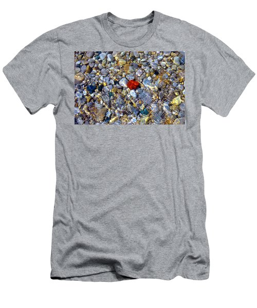The Heart Of Lake Michigan Men's T-Shirt (Athletic Fit)