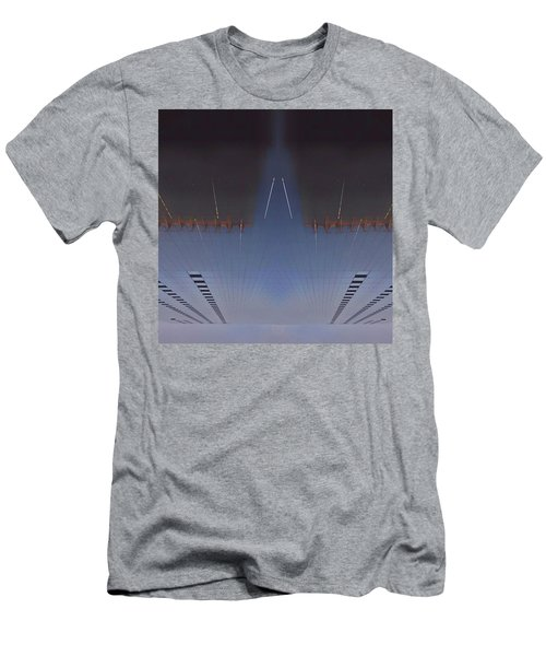 •the Heron On Moor Men's T-Shirt (Athletic Fit)