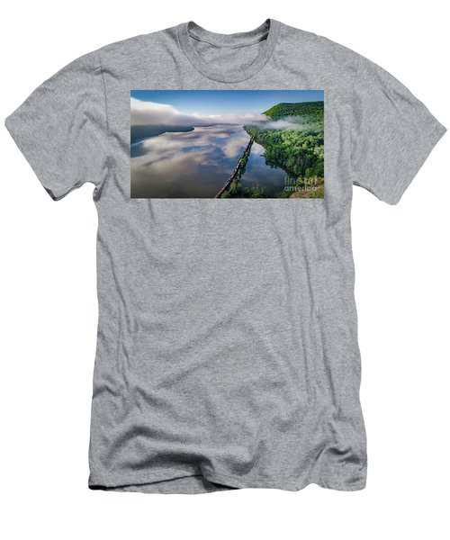 The Highlands Looking South Men's T-Shirt (Athletic Fit)