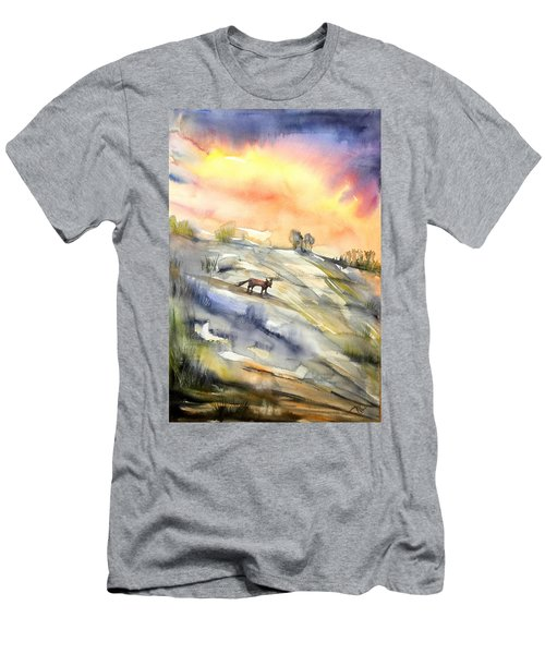 The Hill Of The Foxes Men's T-Shirt (Athletic Fit)