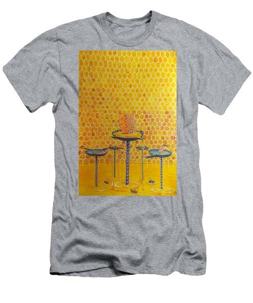 The Honey Of Lives Men's T-Shirt (Slim Fit) by Lazaro Hurtado