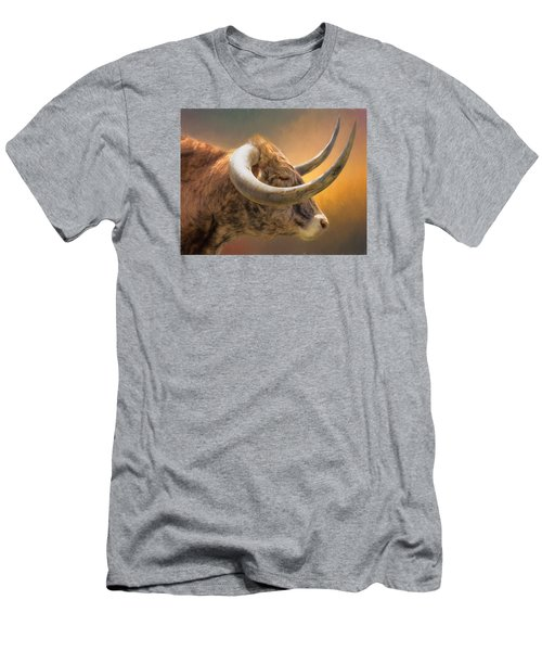 The Horns Men's T-Shirt (Athletic Fit)