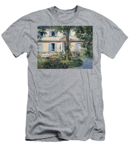 The House At Rueil 1882 Men's T-Shirt (Athletic Fit)