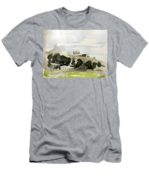 The House On The Hill Men's T-Shirt (Athletic Fit)