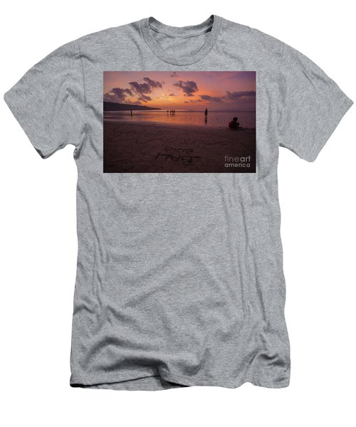 The Island Of God #15 Men's T-Shirt (Athletic Fit)