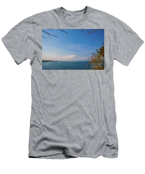 The Island Of God #5 Men's T-Shirt (Athletic Fit)