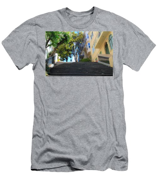 The Joice Street Steps Men's T-Shirt (Athletic Fit)