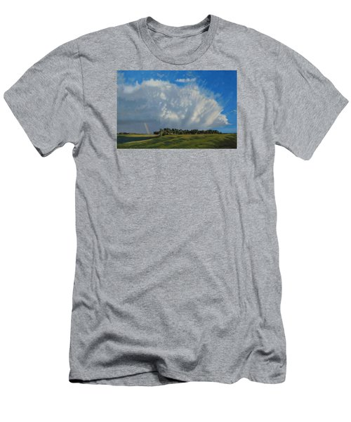 The June Rains Have Passed Men's T-Shirt (Athletic Fit)