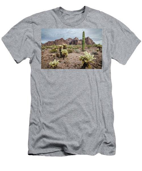 The King Of Arizona National Wildlife Refuge Men's T-Shirt (Athletic Fit)