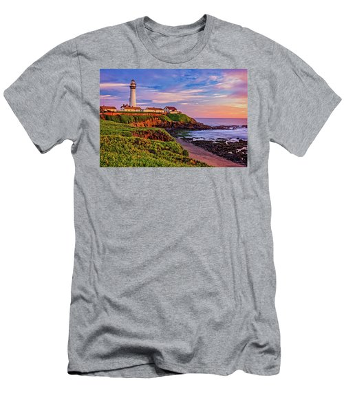 Men's T-Shirt (Athletic Fit) featuring the photograph The Light Of Sunset by John Hight