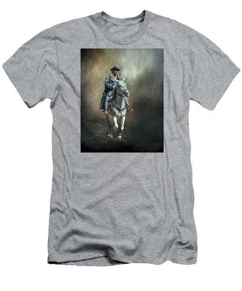 Men's T-Shirt (Slim Fit) featuring the photograph The Lone Drifter by Brian Tarr
