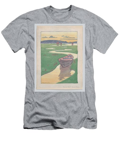 The Lost Boat , Arthur Wesley Dow Men's T-Shirt (Athletic Fit)