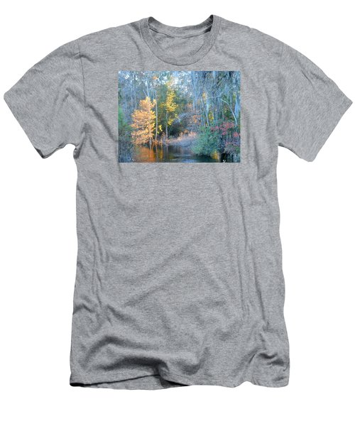 The Magic Of Autumn Sunshine Men's T-Shirt (Slim Fit) by Kay Gilley