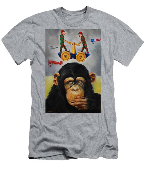 The Magnificent Flying Strauss Men's T-Shirt (Athletic Fit)