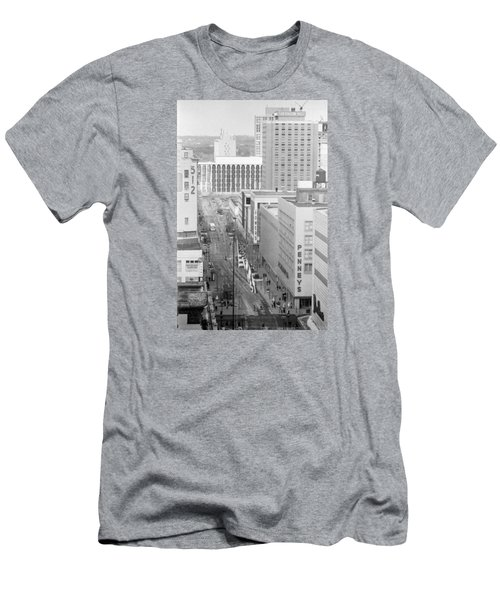 The Mall From Dayton's 12th Floor Men's T-Shirt (Athletic Fit)